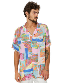 MIAMI DAY MENS CLOTHING BARNEY COOLS SHIRTS - 301-PEC1MDAY