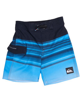 ELECTRIC BLUE KIDS TODDLER BOYS QUIKSILVER BOARDSHORTS - EQKBS03130BPB6