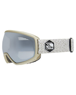 WARM GREY MILL BOARDSPORTS SNOW CARVE GOGGLES - 6161WGRY