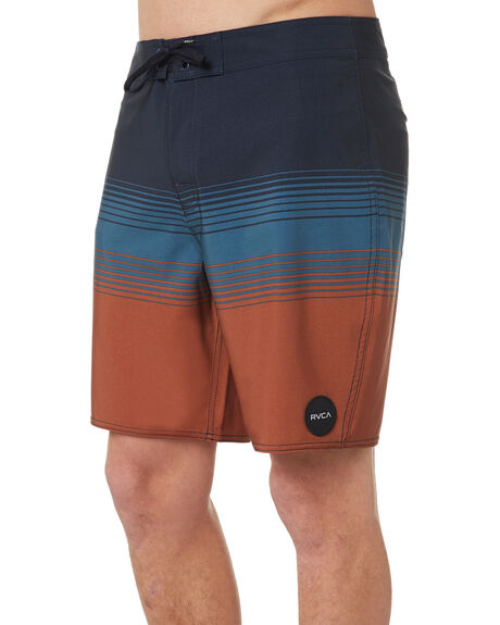 NEW NAVY MENS CLOTHING RVCA BOARDSHORTS - R182404NNVY