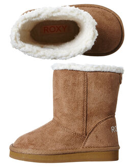 BROWN KIDS TODDLER GIRLS ROXY FOOTWEAR - AROB700001BRN