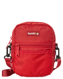 MAROON MENS ACCESSORIES THE BUMBAG CO BAGS + BACKPACKS - CB007MRN
