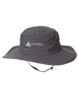 GREY SURF ACCESSORIES KOMUNITY PROJECT SURF HATS - 12VKPACMALGRY