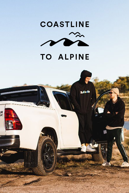 Barney Cools and SurfStitch Present: Coastline To Alpine