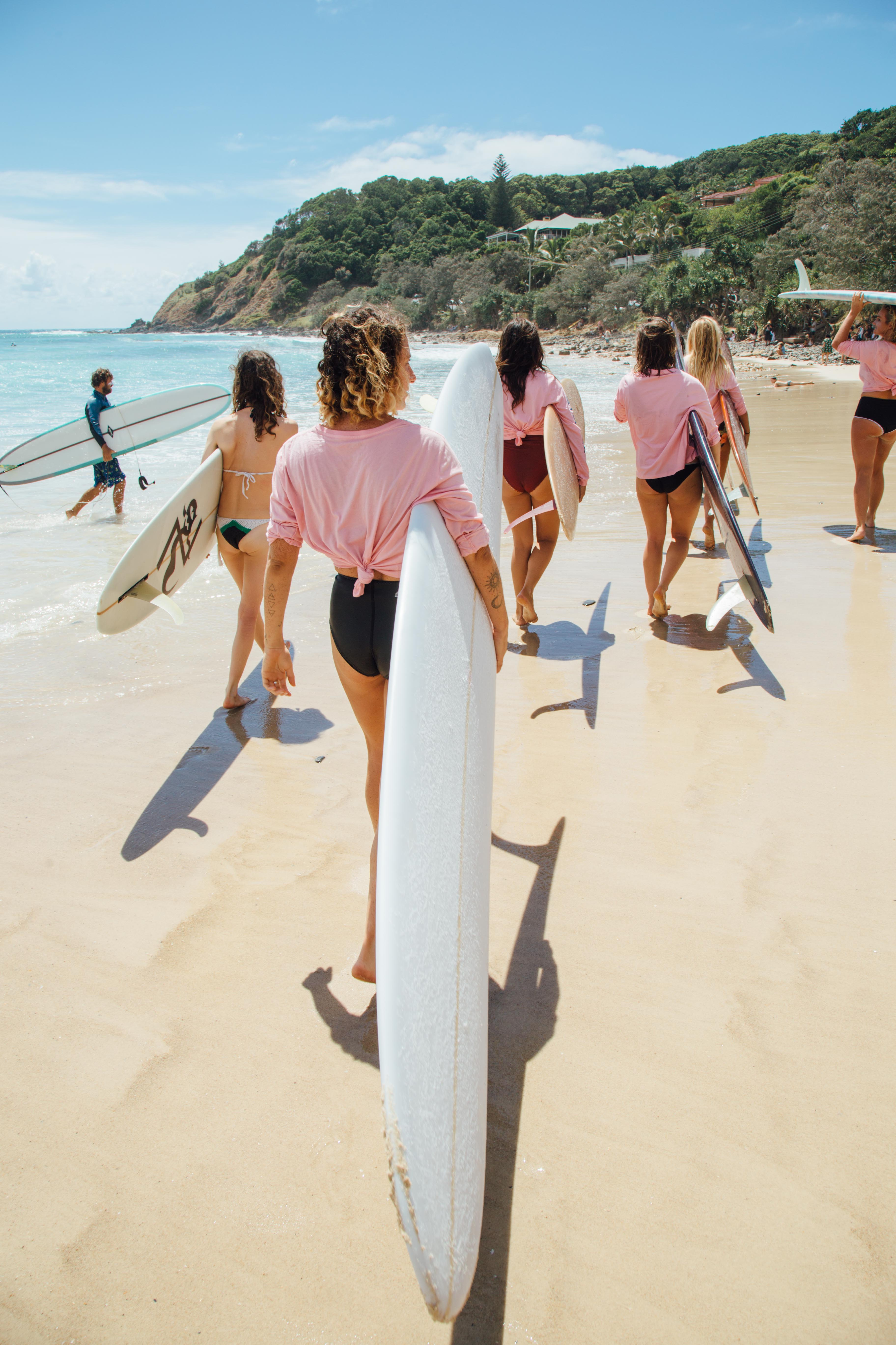 Sun, Sisterhood and Surf in Byron Bay's Mermaid Sesh