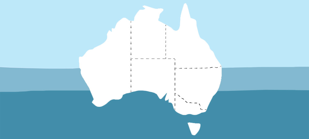 Australian Shop By Thickness Map