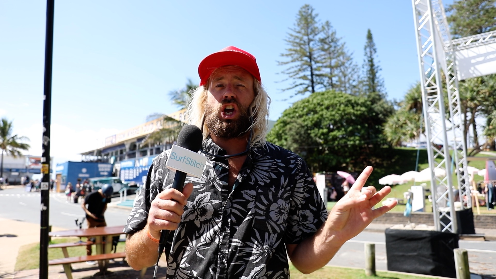 Go VIP: Tyler Allen, the Quiksilver Pro and the biggest names in surfing