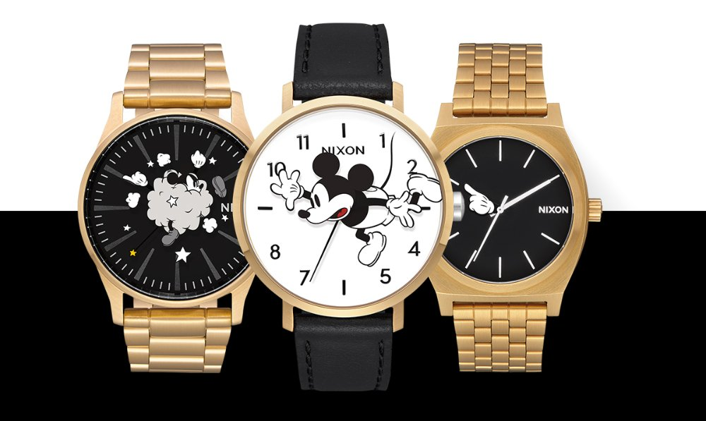 Disney x Nixon Celebrate 90 Years of Mickey Mouse