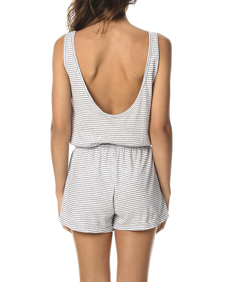 beac6a0f72d ... TILLY GREY STRIPE WOMENS CLOTHING THE BARE ROAD PLAYSUITS + OVERALLS -  6-9- ...