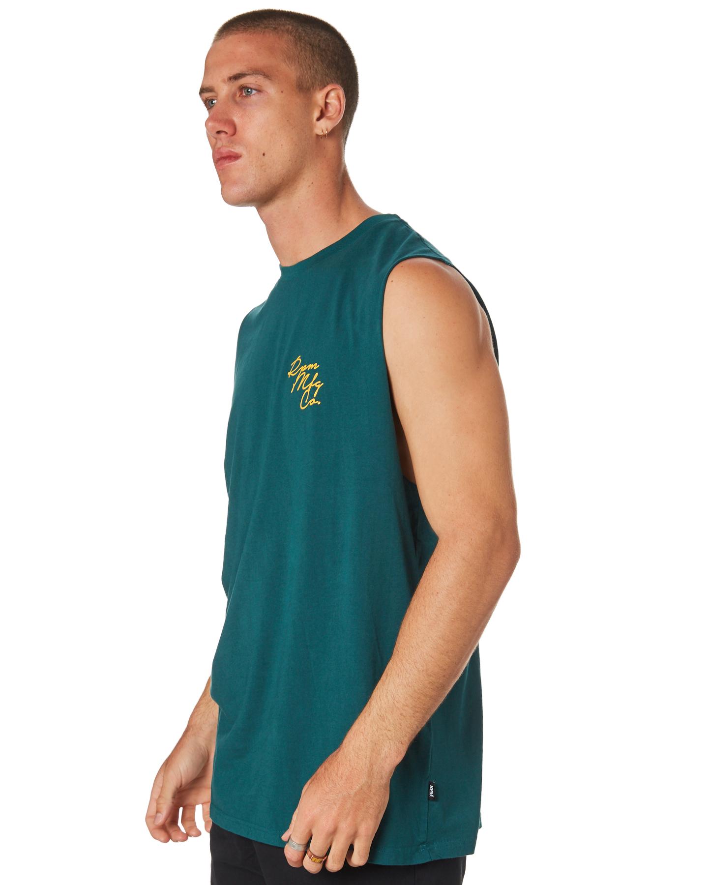 fbaf6070e9c5fc ... TEAL MENS CLOTHING RPM SINGLETS - 8HMT04ATEAL ...
