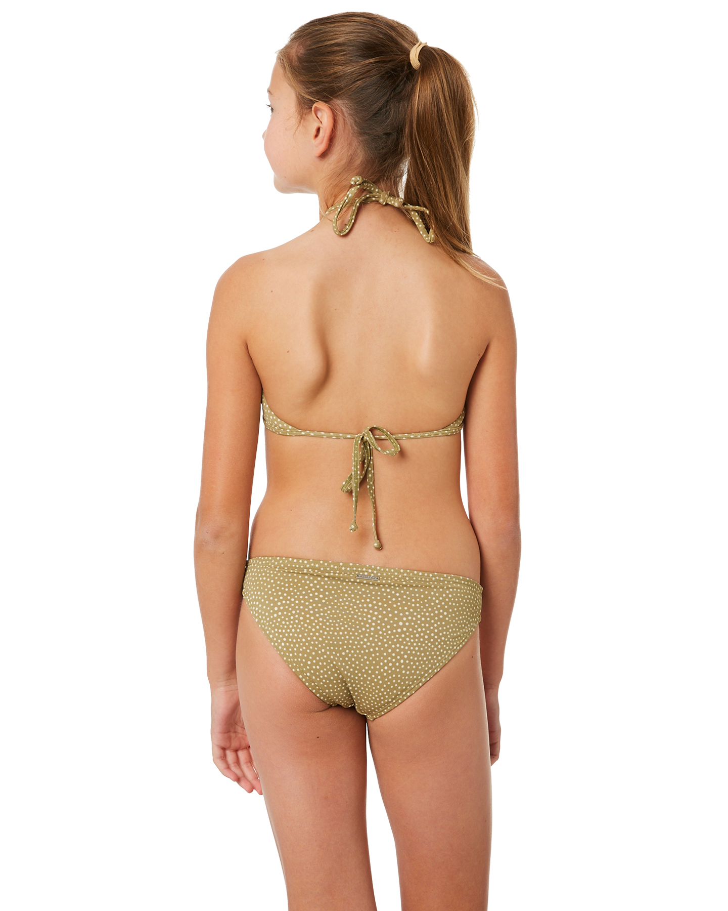 Pre Teens Swim Suit Bottom On Only Pictures: Billabong Masha Dot Bikini - Sage