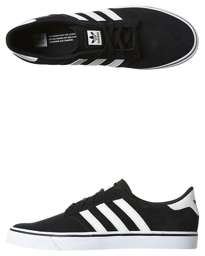 Adidas Originals Seeley Premiere Shoe - Black White White  e14575301