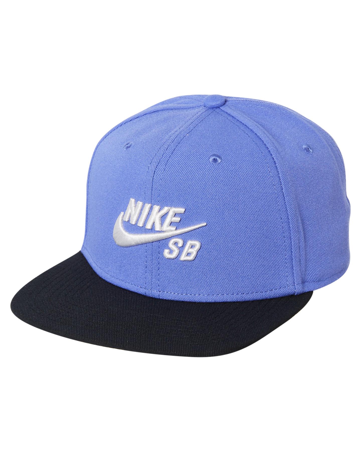 720880bc728 Nike Sb Icon Snapback Cap - Rush Violet Black