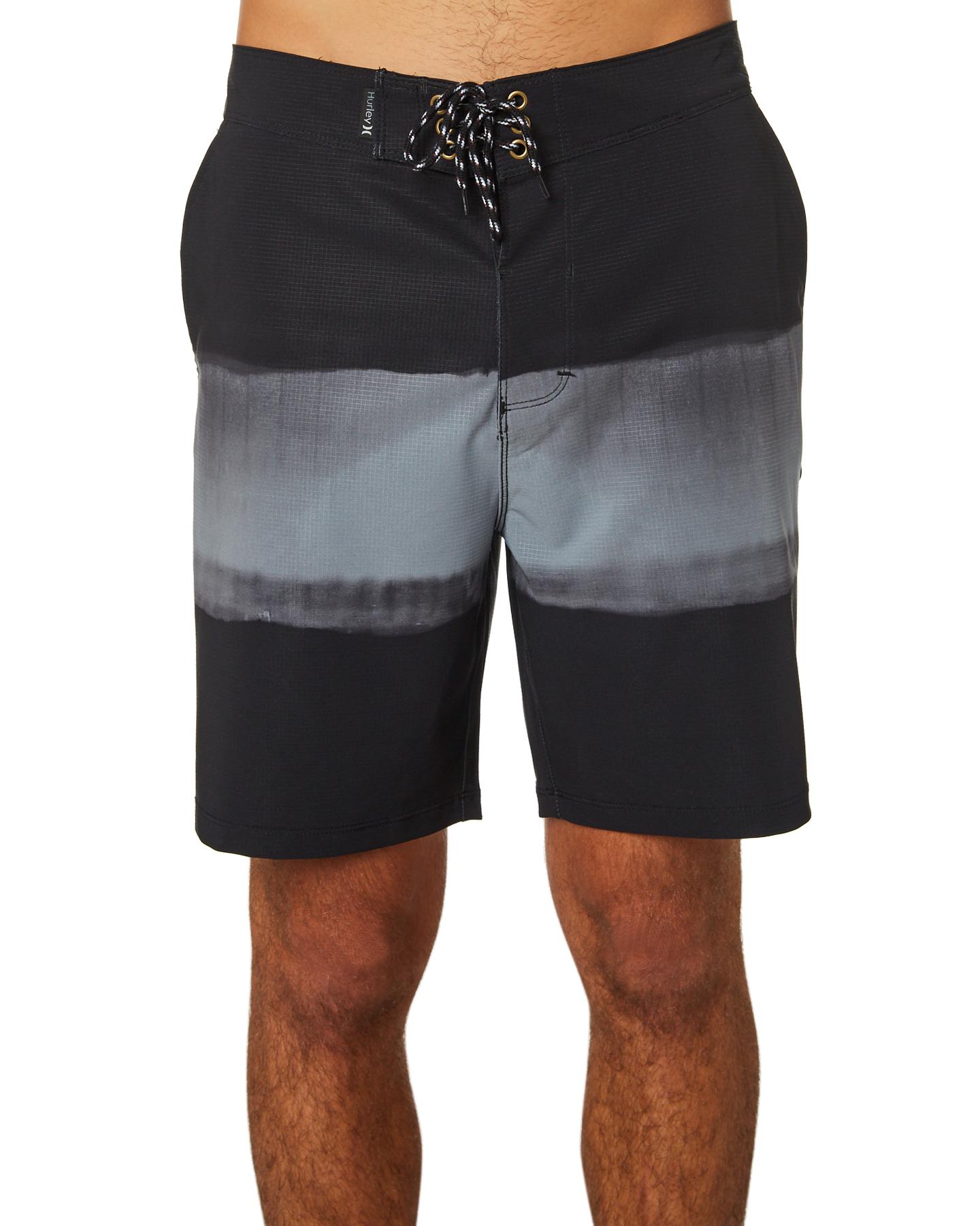 5b54c0e3aa Hurley Phantom Pigment Beachside Mens Boardshort - Black | SurfStitch