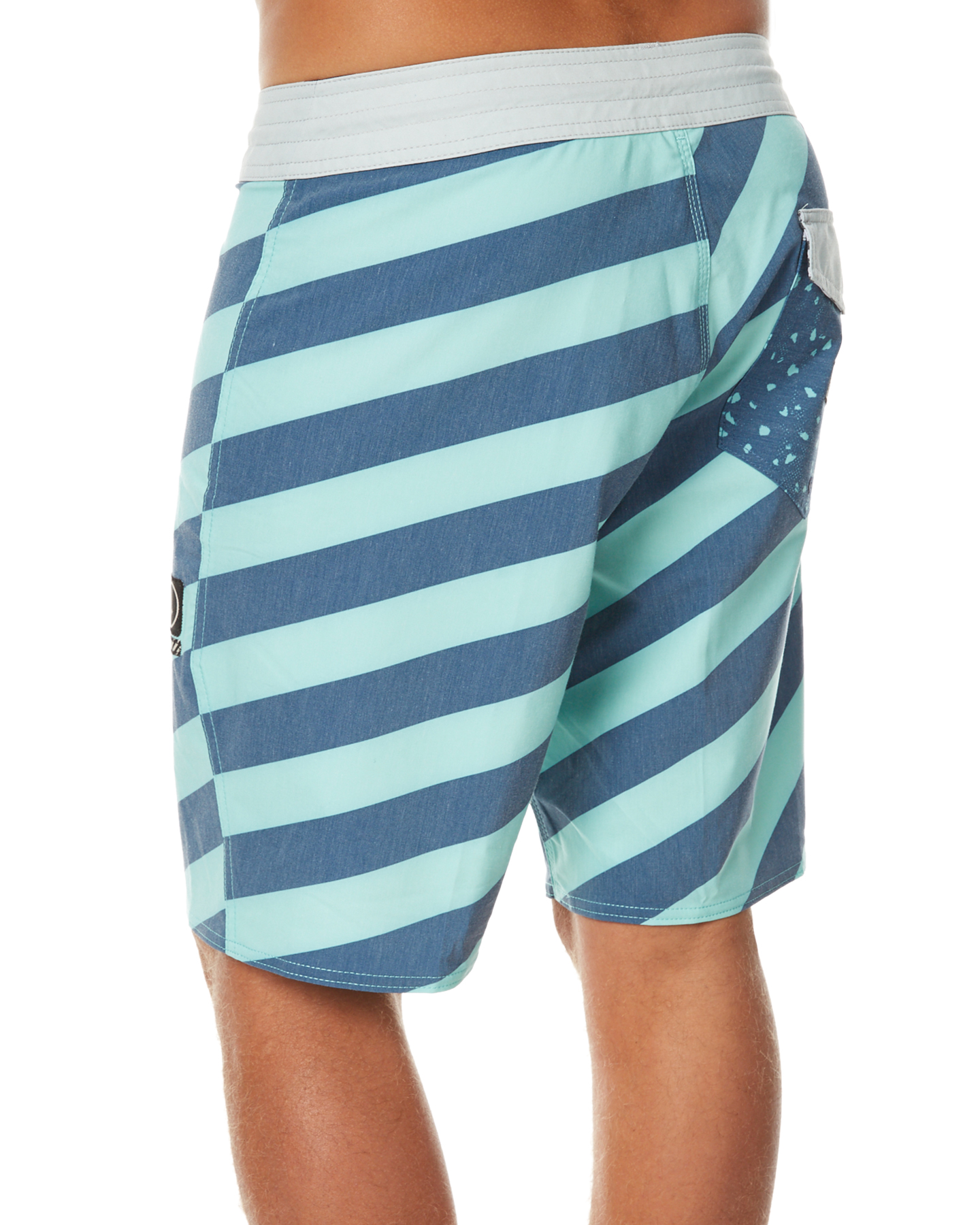 2a37b75523 Volcom Stripey Stoney 19 Mens Boardshort - Ice Green | SurfStitch