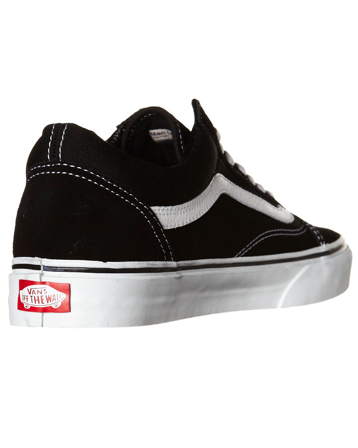 0486e1183615 ... BLACK MENS FOOTWEAR VANS SKATE SHOES - SSVN-0D3HY28BLKM ...