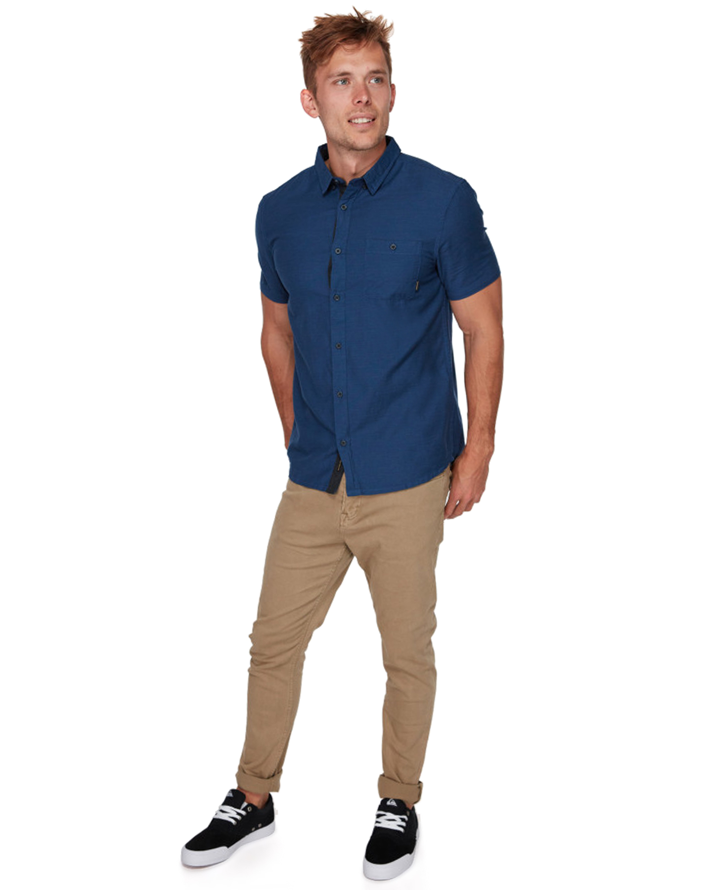 6de65ee9 ... MEDIEVAL BLUE MENS CLOTHING QUIKSILVER SHIRTS - EQYWT03723BTE0