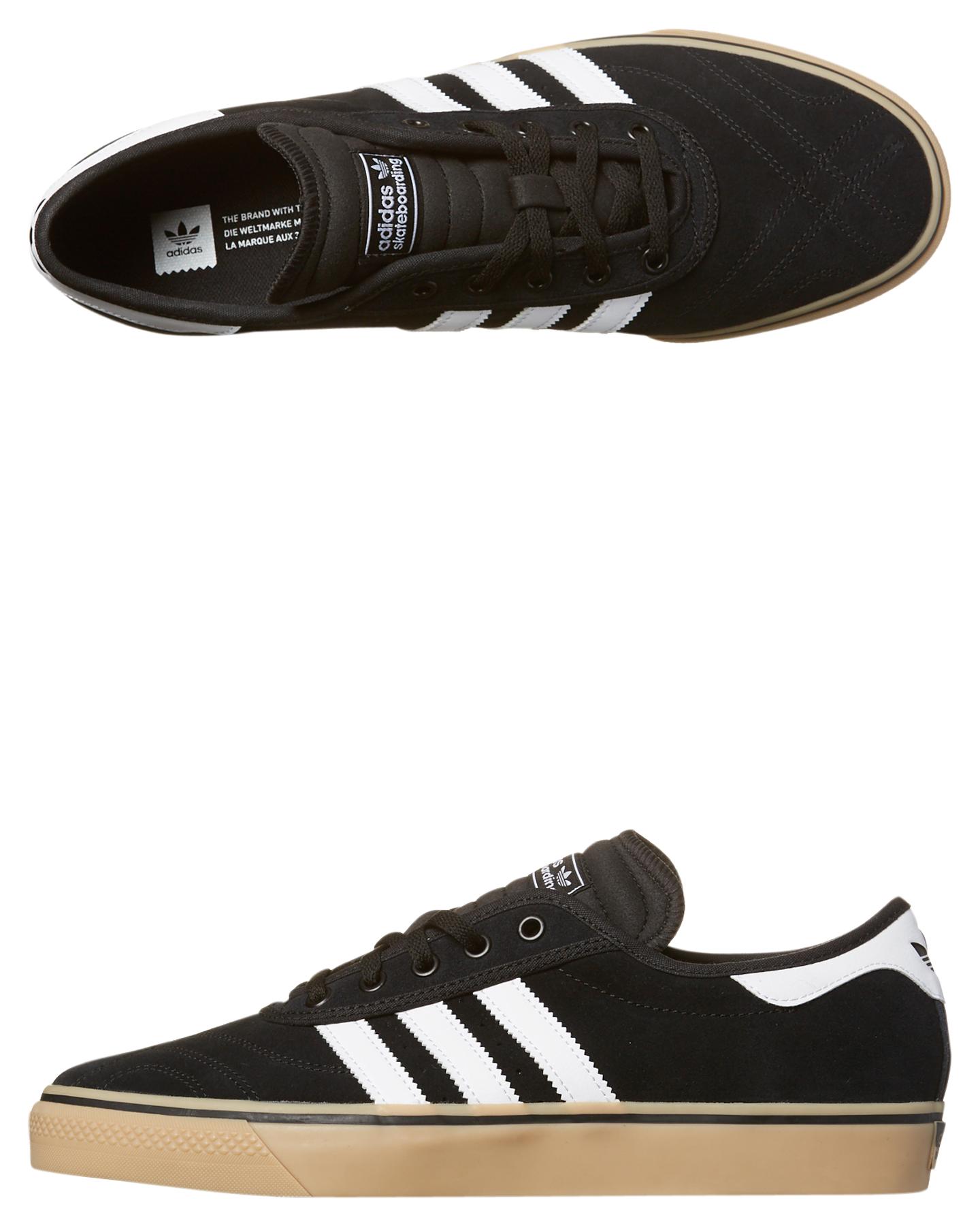pretty nice a3137 0ed76 BLACK WHITE GUM MENS FOOTWEAR ADIDAS SKATE SHOES - F37319BKWH ...