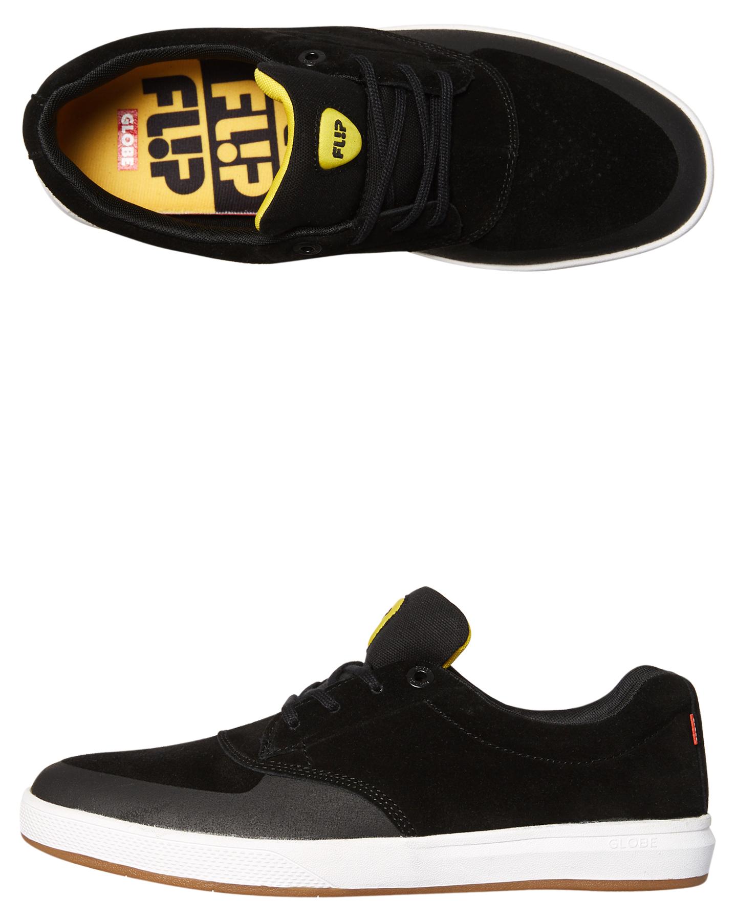 63807077da BLACK BUTTER MENS FOOTWEAR GLOBE SNEAKERS - GBEAGLE-20330 ...