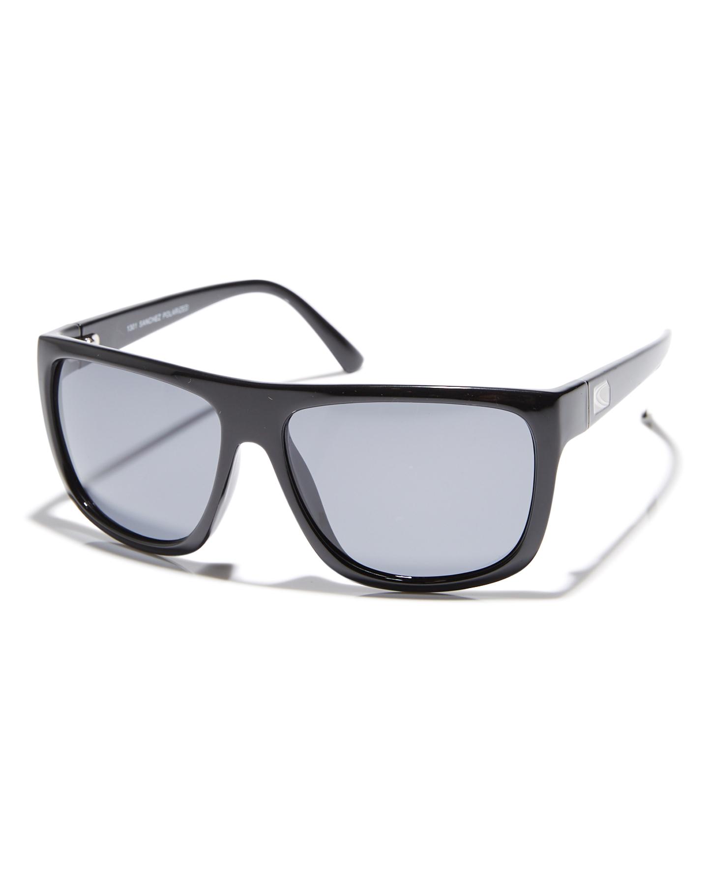 Carve Sanchez Sonnenbrille One Size Black/Whte Polarized Revo NuWNZ2U