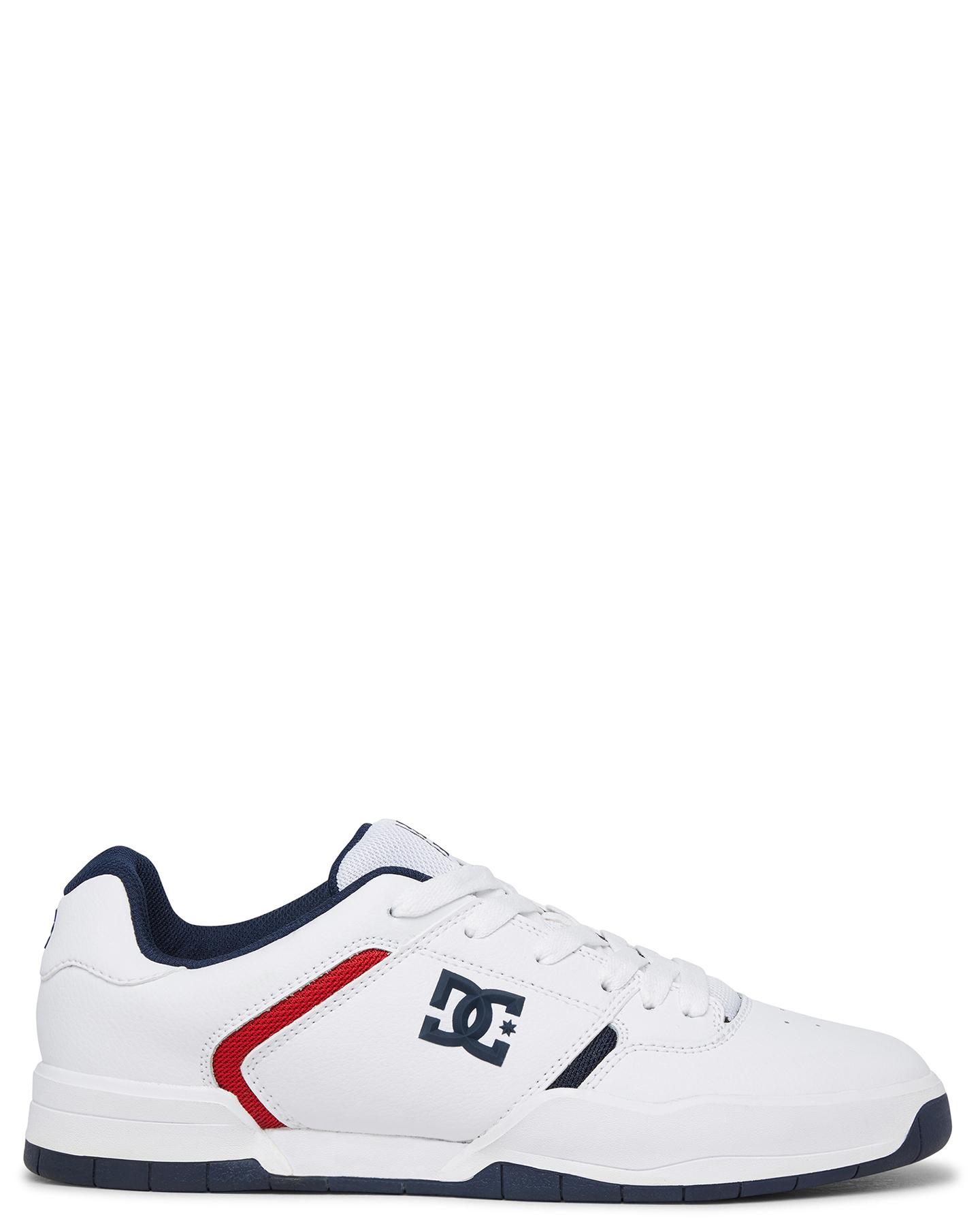 Dc Shoes Mens Central Shoe - White