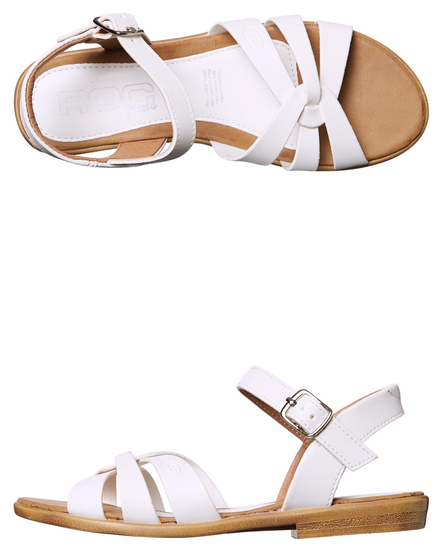 8914d5af49ed7 Roc Boots Australia Piper Girls Sandal - White | SurfStitch