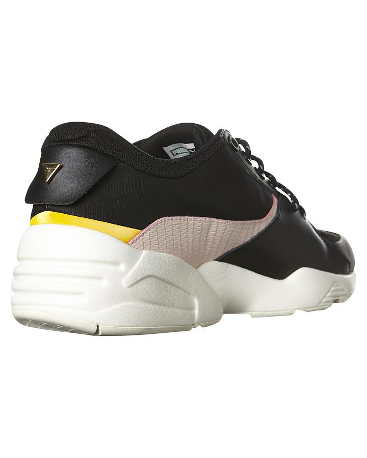 8fdc05e09c98 ... BLACK WHISPER WHITE WOMENS FOOTWEAR PUMA SNEAKERS - 36147-202 ...