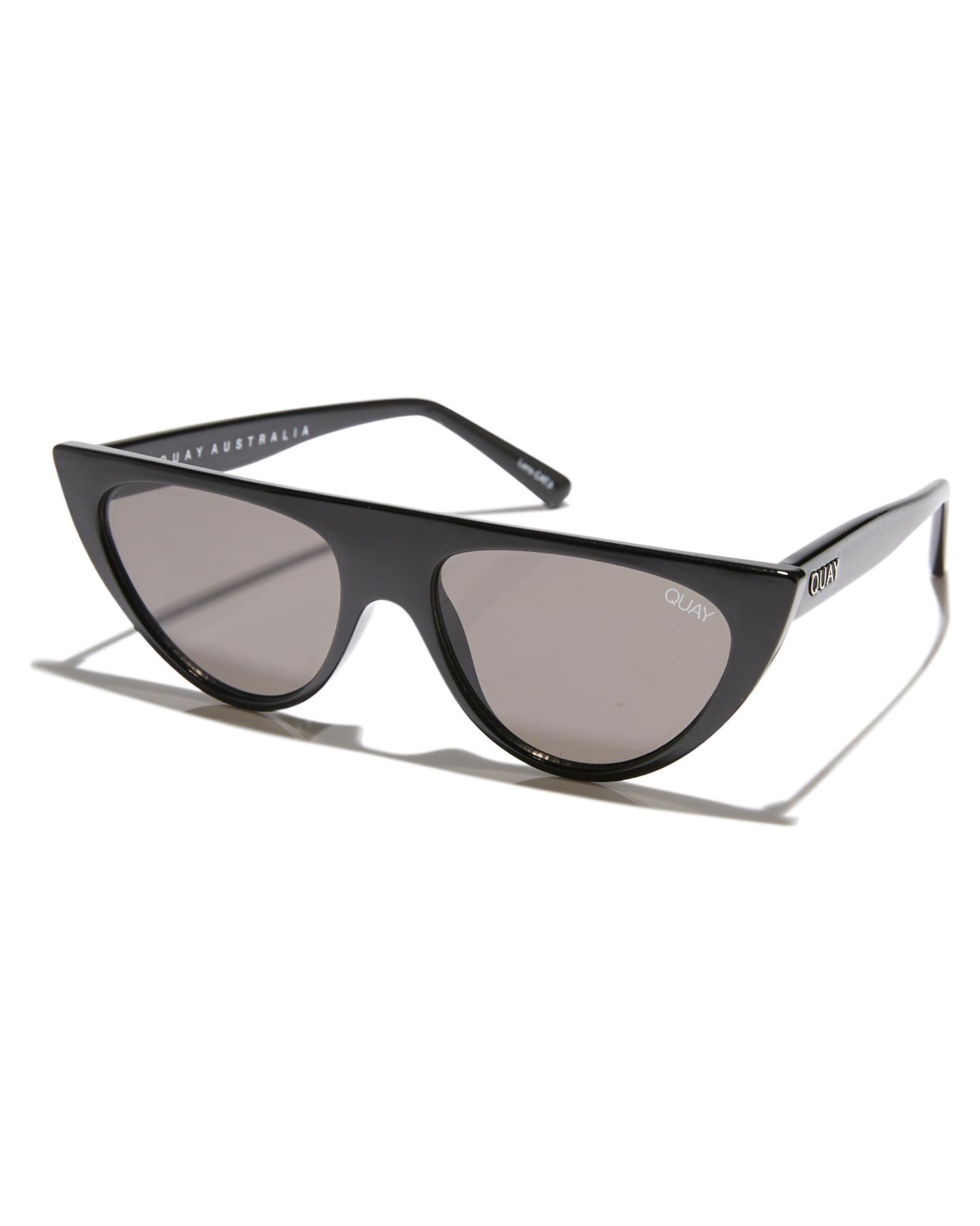 aa3a0120262 Quay Eyewear Sofia Richie Run Away Sunglasses - Black Smoke