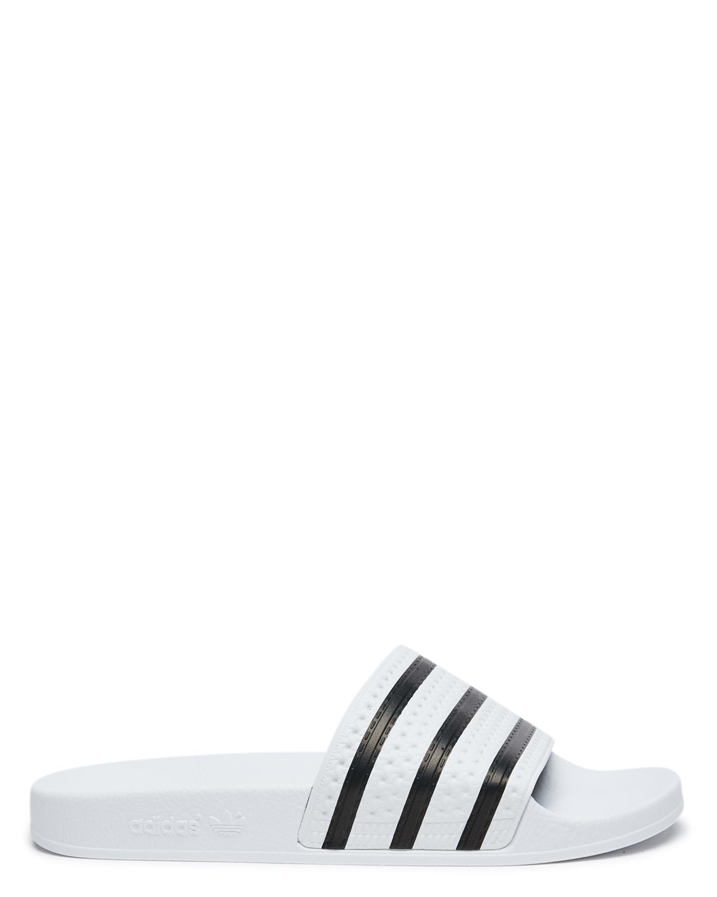 f93daff4717f Adidas Womens Adilette Thong - White