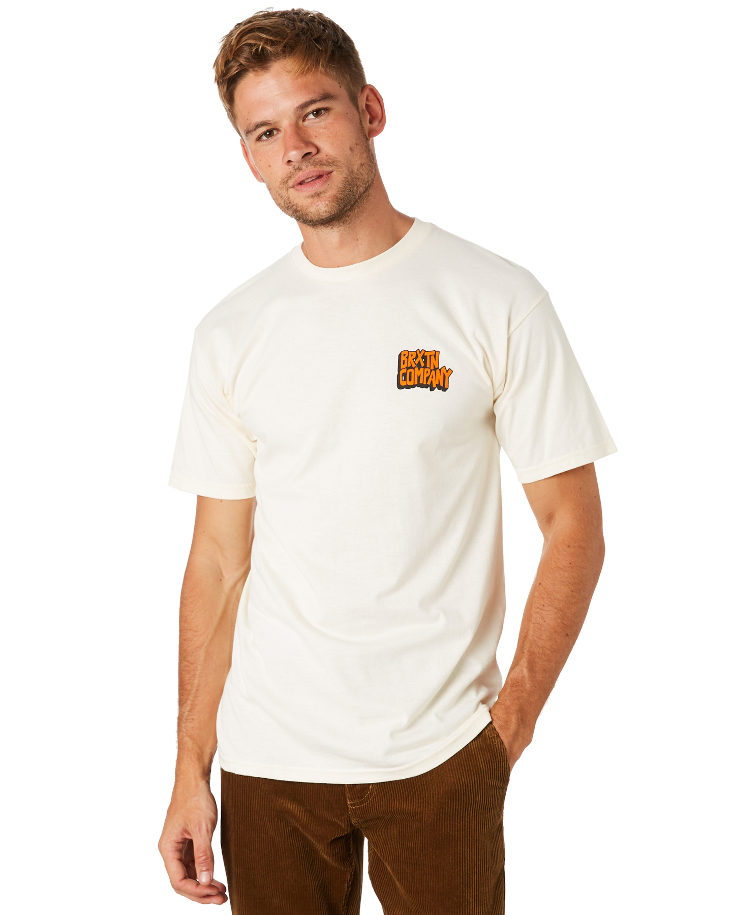 68c817a667 ... OFF WHITE MENS CLOTHING BRIXTON TEES - 06958OFFWH ...