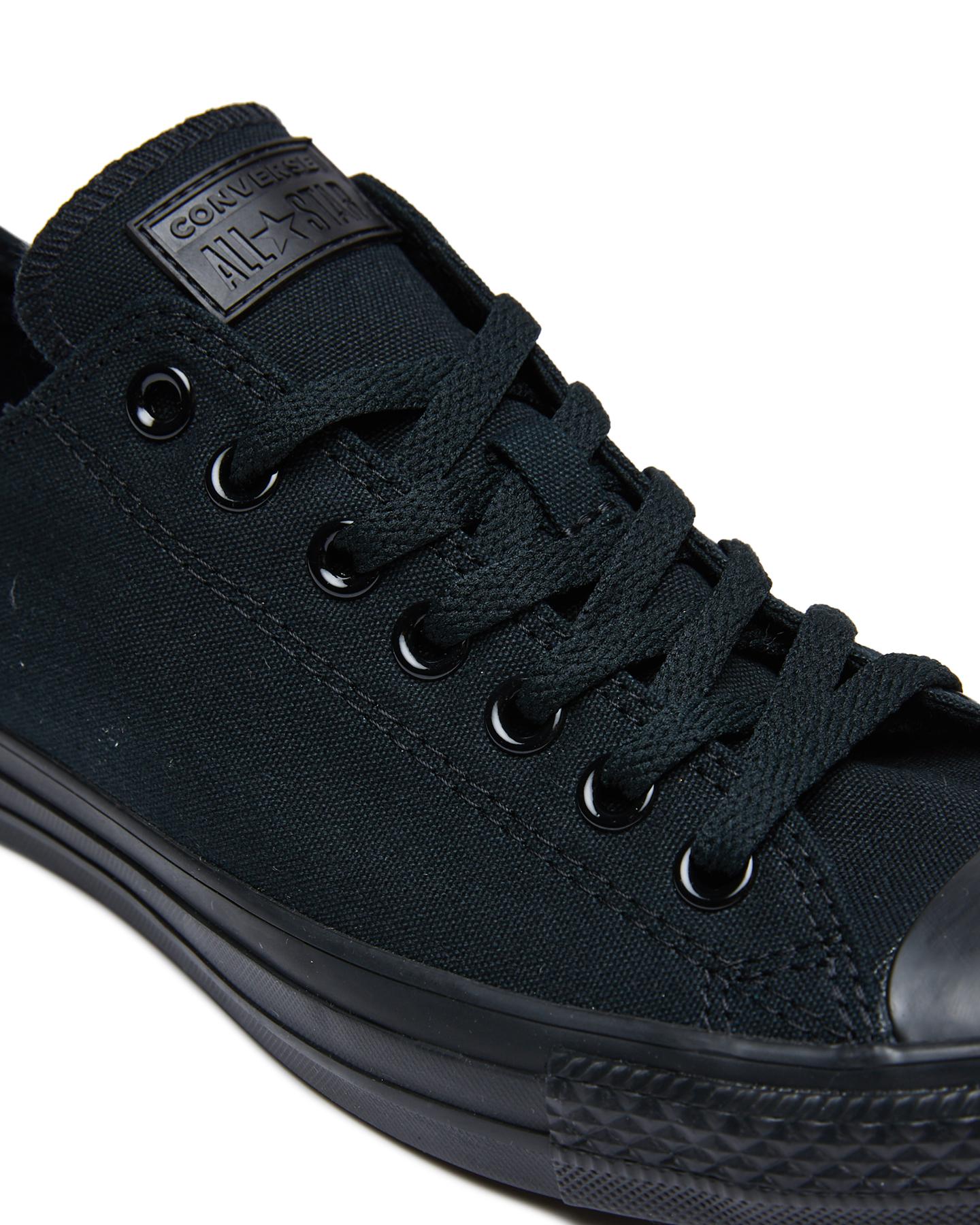 b53e32fdba6f ... BLACK MONOCHROME MENS FOOTWEAR CONVERSE SNEAKERS - SS15039BLKMOM ...