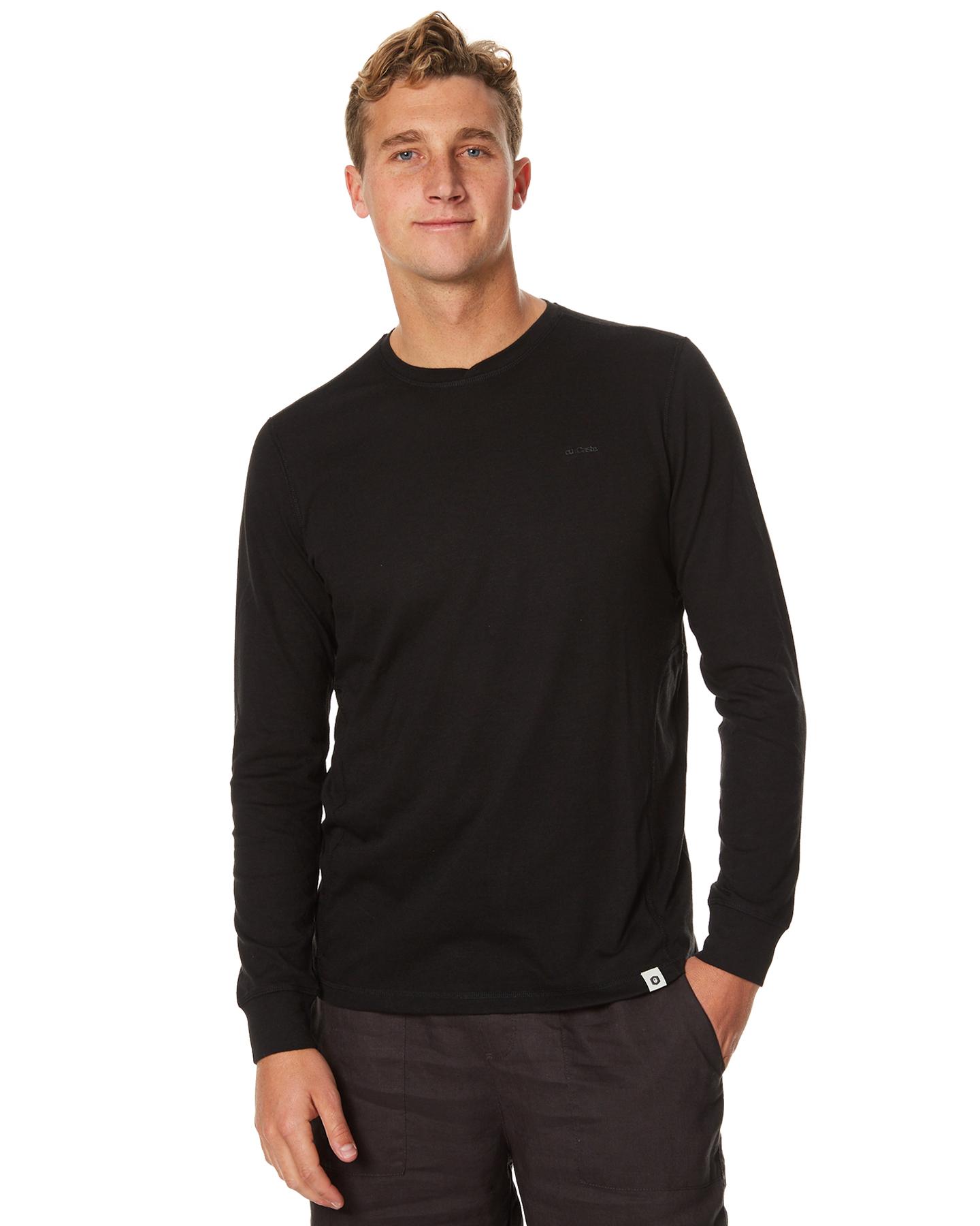 ourcaste brady mens pullover black surfstitch