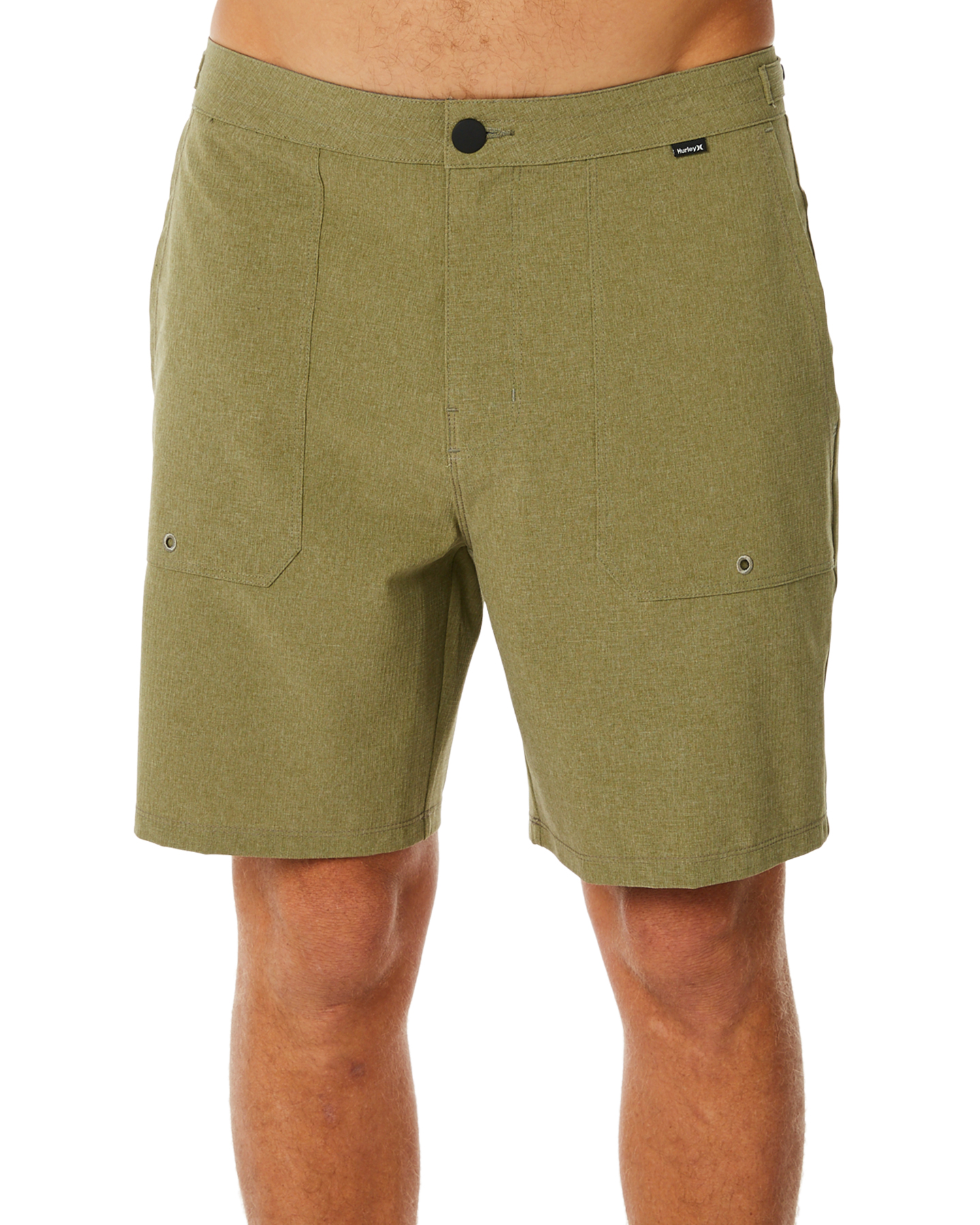 b9a26058e1 Hurley Phantom Coastline 18 Mens Short - Olive Canvas | SurfStitch