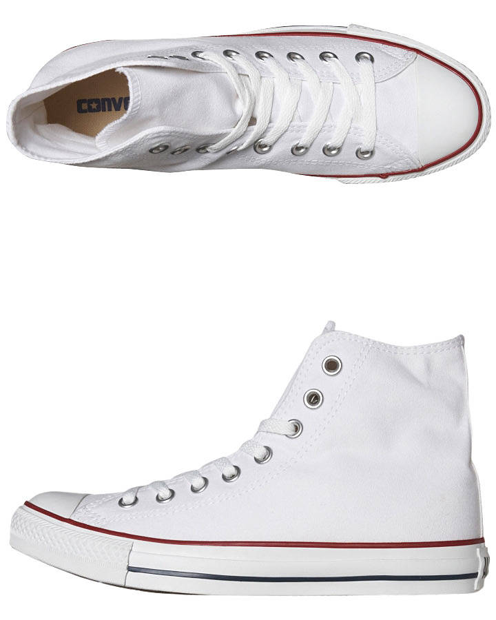 6b260f6728c3a3 Converse Womens Chuck Taylor All Star Hi Top Shoe - Optical White ...