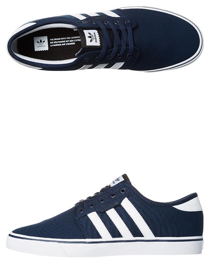 1b3258ed02b Adidas Seeley Shoe - Navy White Black