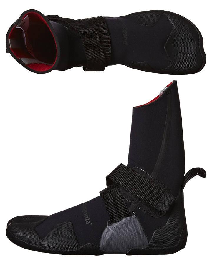 3d0419a08 Patagonia R3 Neoprene 3Mm Split Toe Booties - Black | SurfStitch