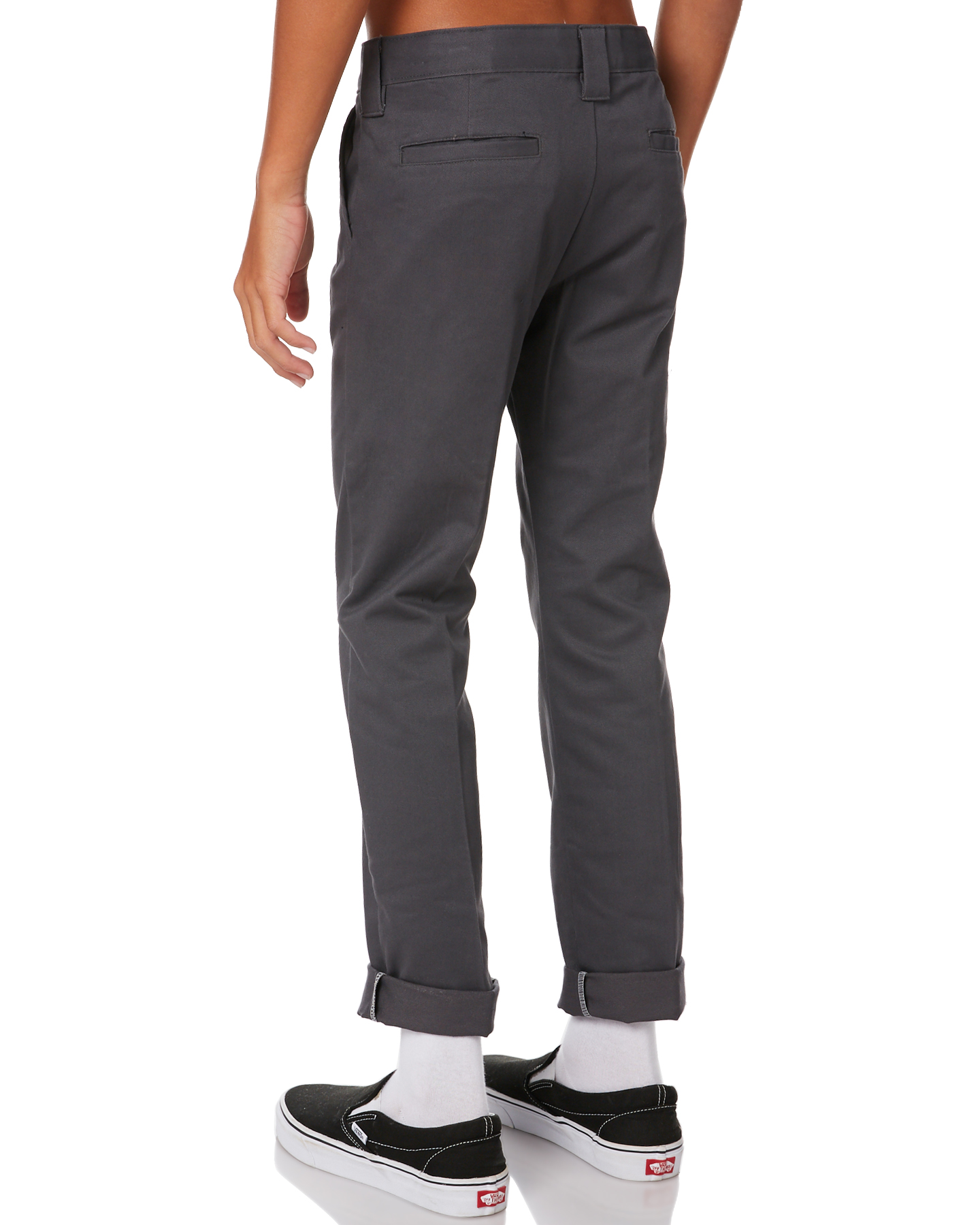 Our boys dress pants by Tallia in a wool blend will let you rest easy without easing up on sophistication. These washable boys trousers are plain front with quarter top pockets and come in Black, Navy, Charcoal, Gray Heather and Khaki.