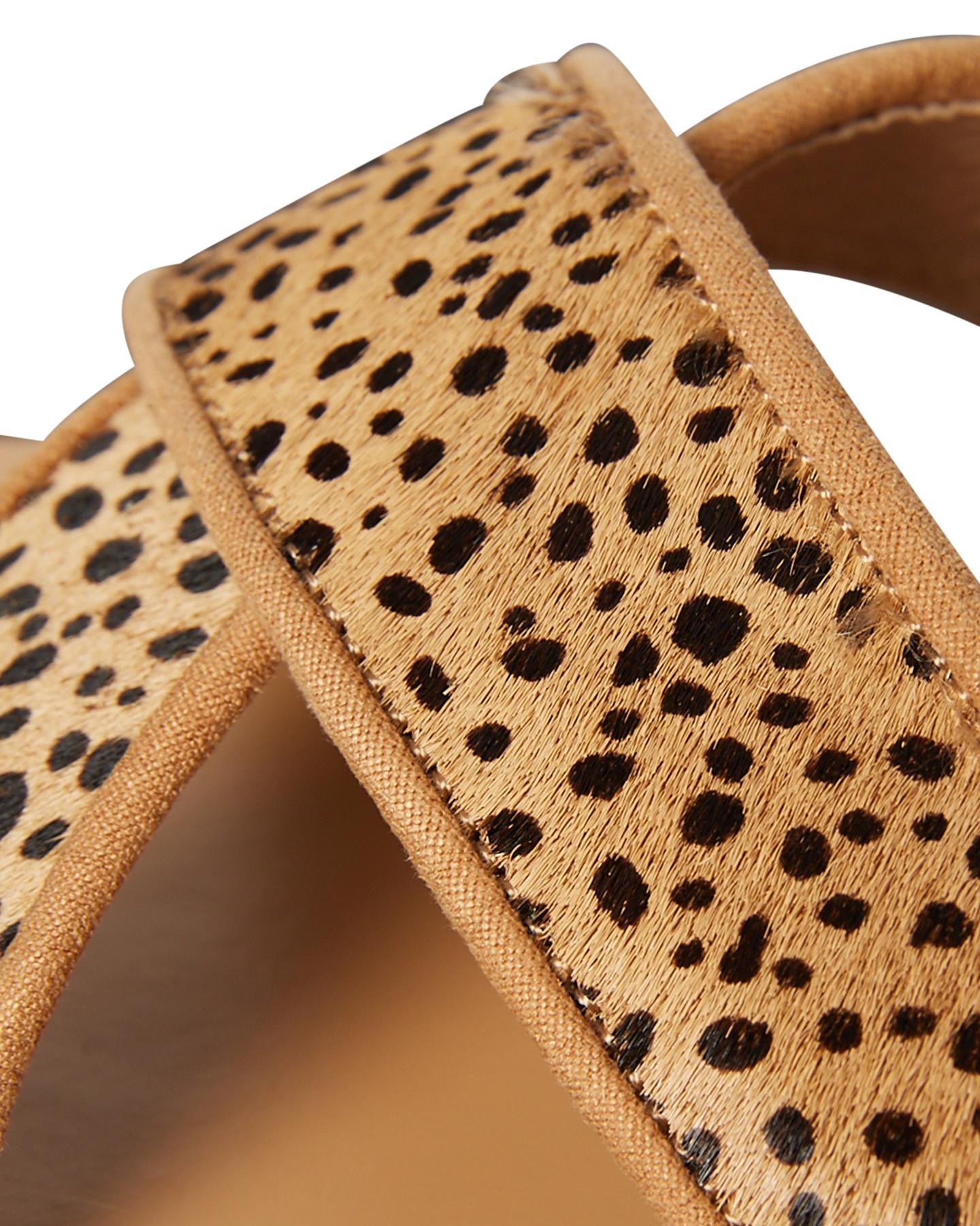 101c75675b50 ... CAMEL LEOPARD WOMENS FOOTWEAR BILLINI SLIDES - S494CAMLEO