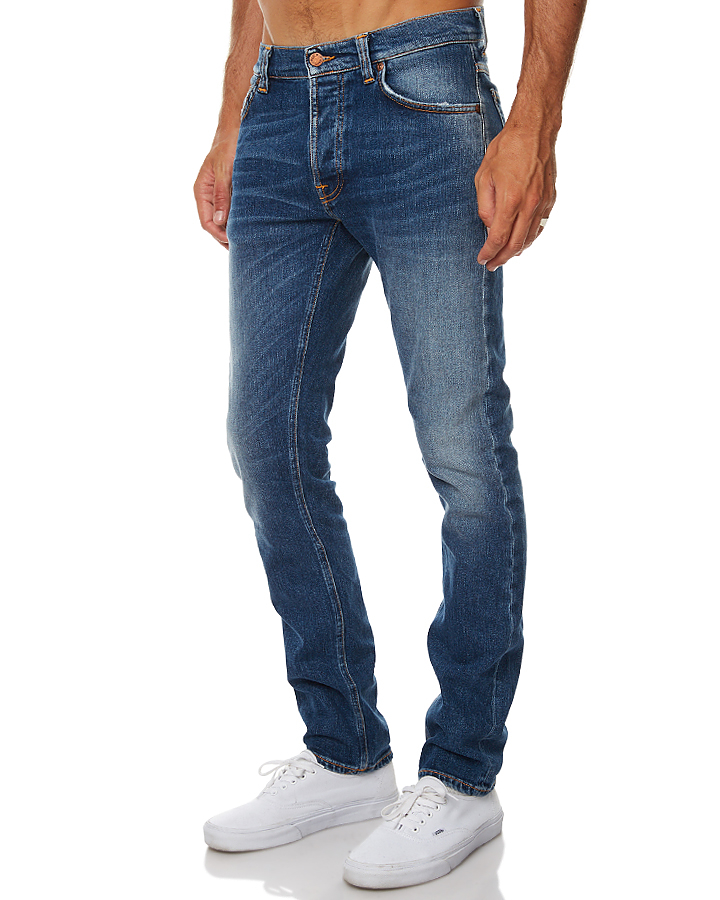 ... SHACKLED AND BLUE MENS CLOTHING NUDIE JEANS CO JEANS - 112477SHBL ...