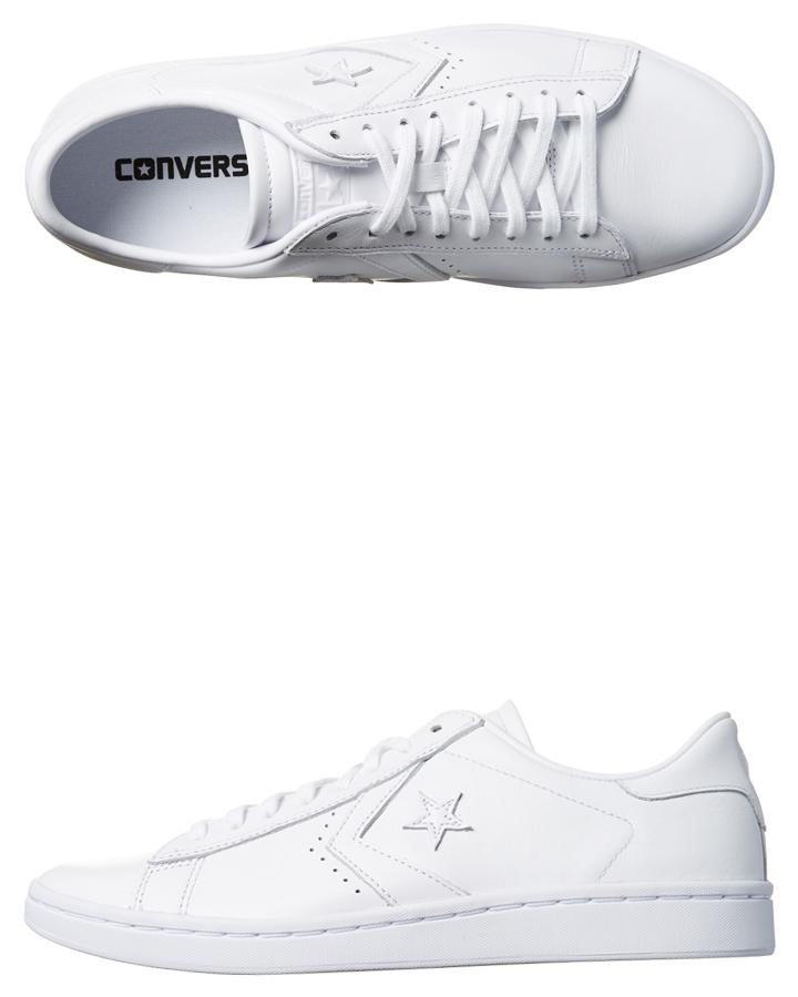 f3a7cae78d47 Converse Womens Pro Leather Lp Shoe - White