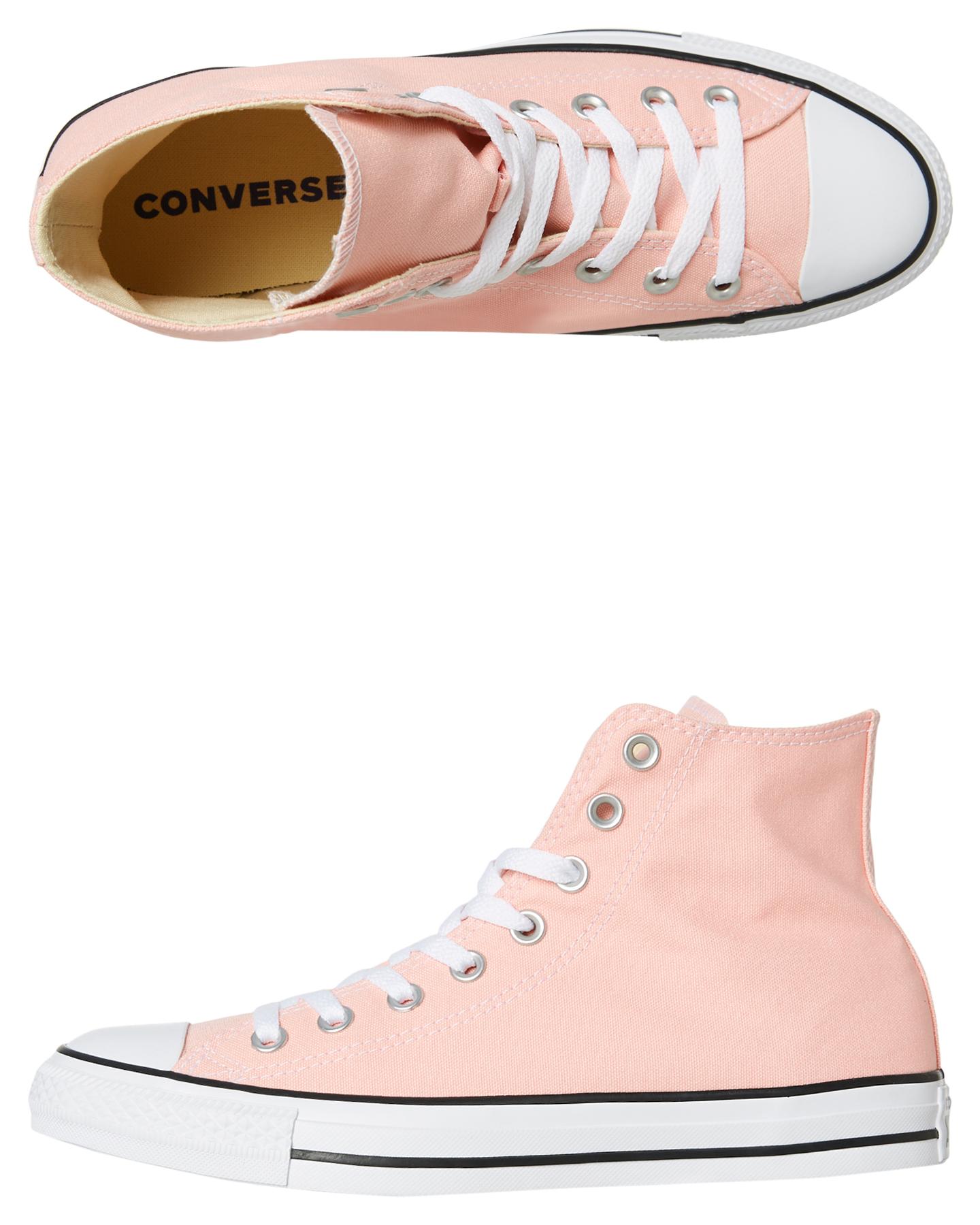 Converse Mens Chuck Taylor All Star Hi Shoe - Pink  4b5eb2d26