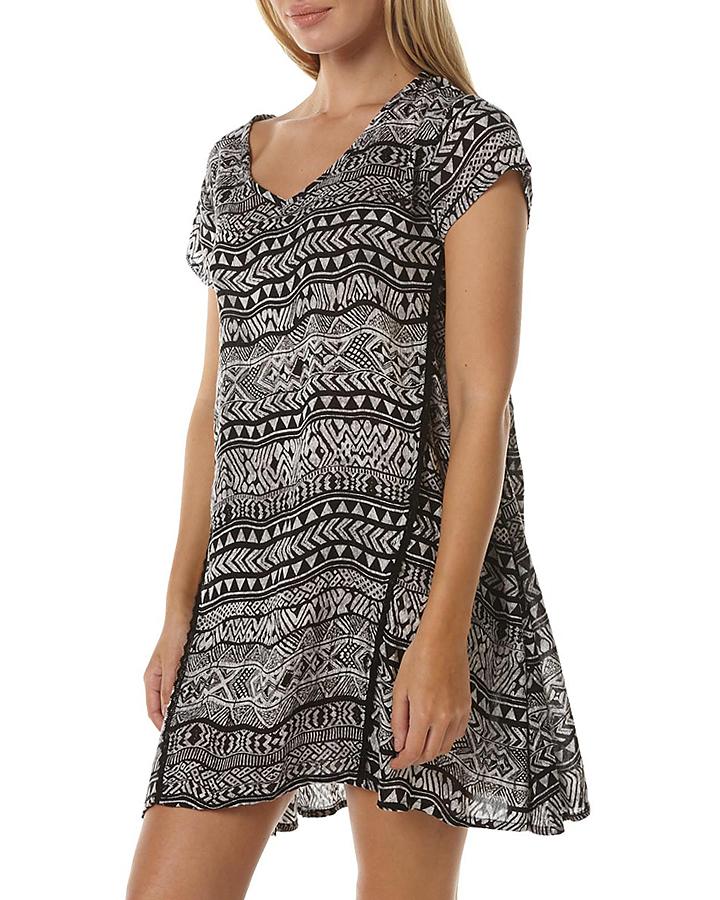Volcom money maker dress womens black s