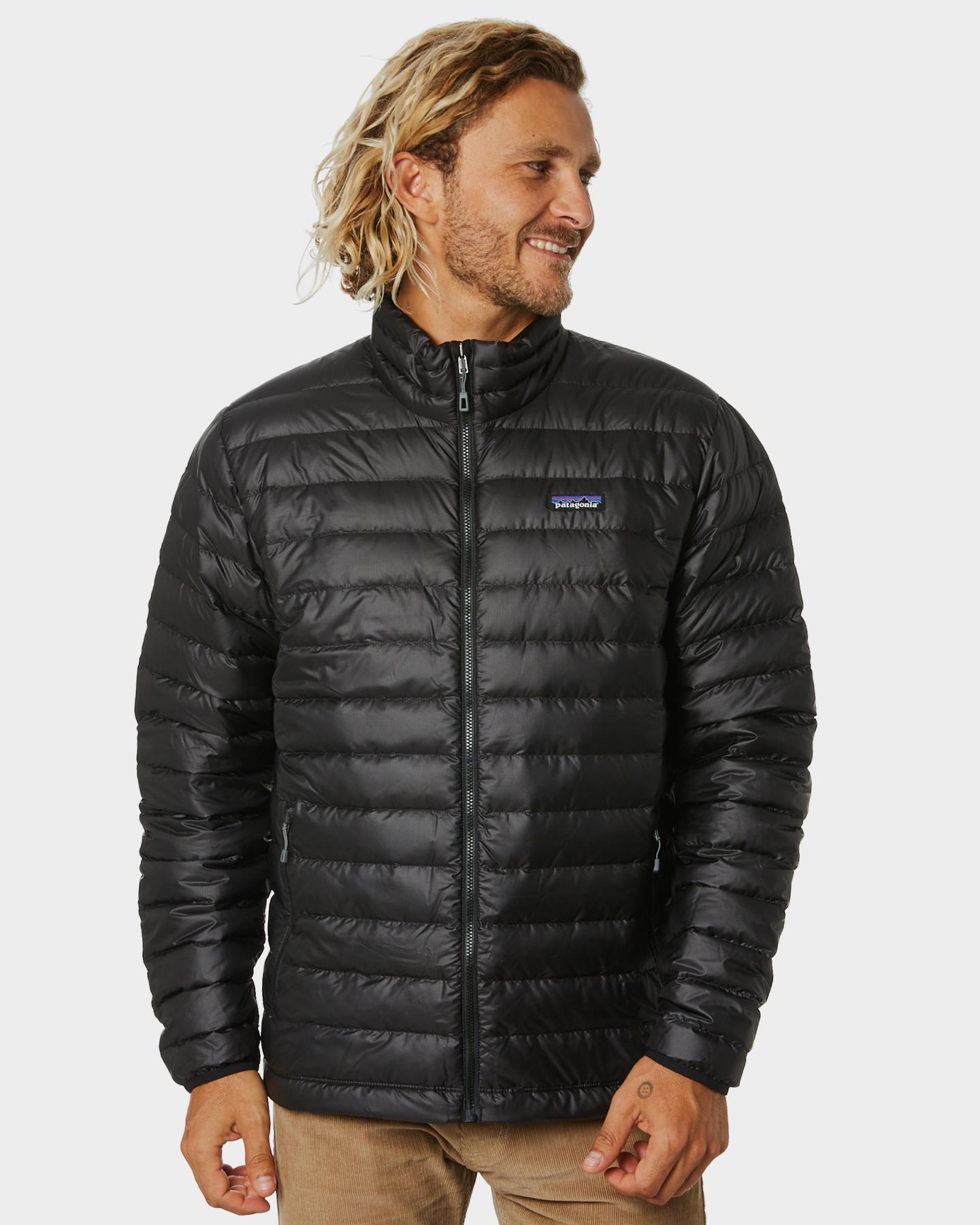Patagonia Down Sweater Jacket - Black | SurfStitch
