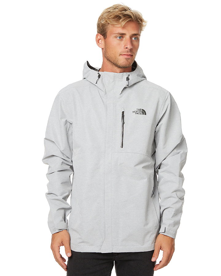 The North Face Dryzzle Mens Jacket - Light Grey | SurfStitch