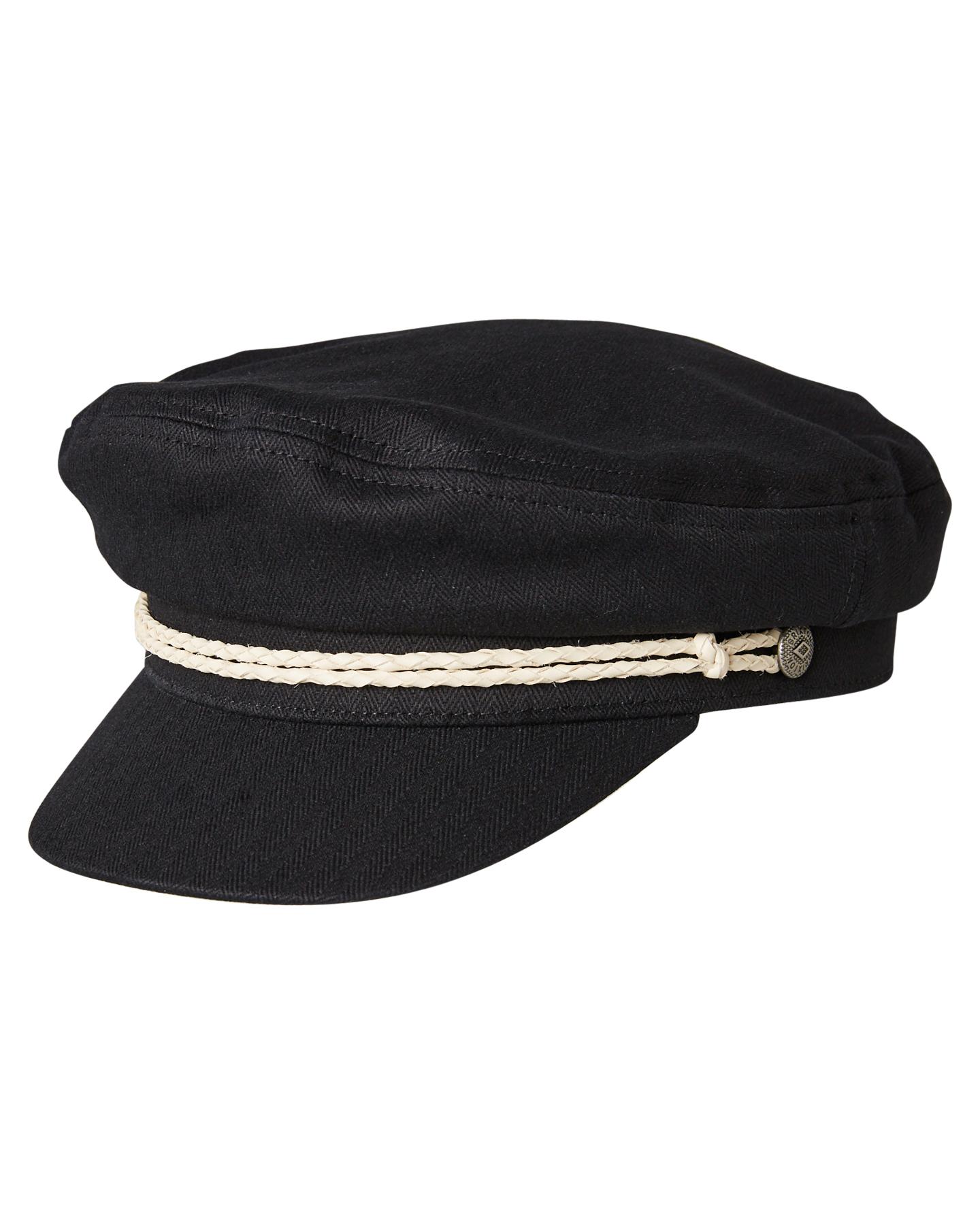 b57188c160d Brixton Ashland Cap - Black Off White