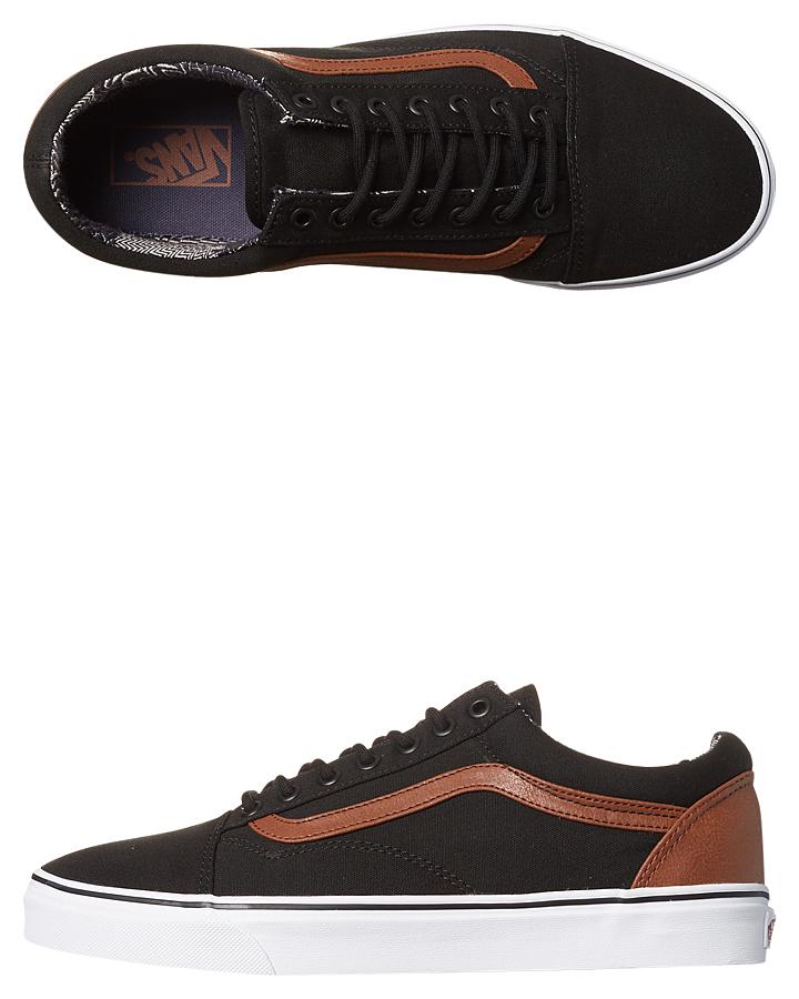 Vans Old Skool Shoe - Black Material Mix  f2e6ef1f6