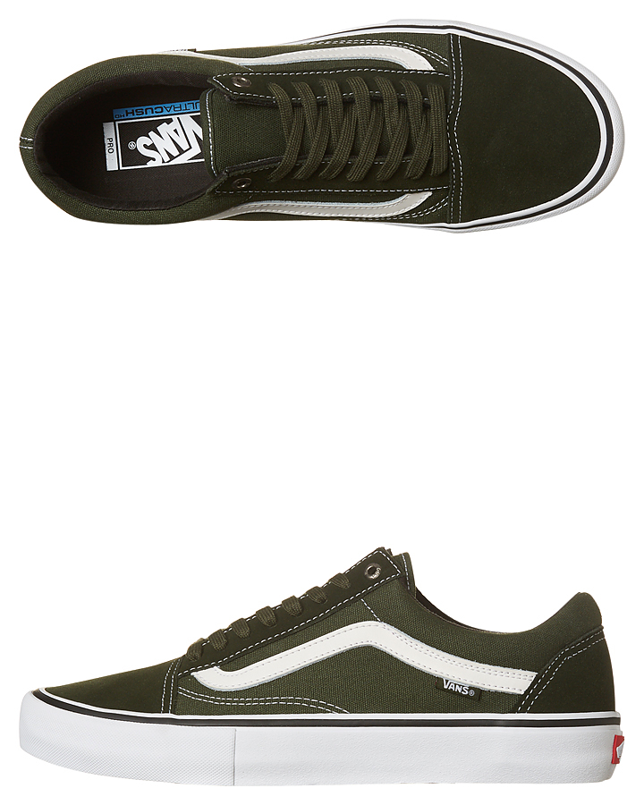 Vans Old Skool Pro Shoe - Rosin White  120d3a9268