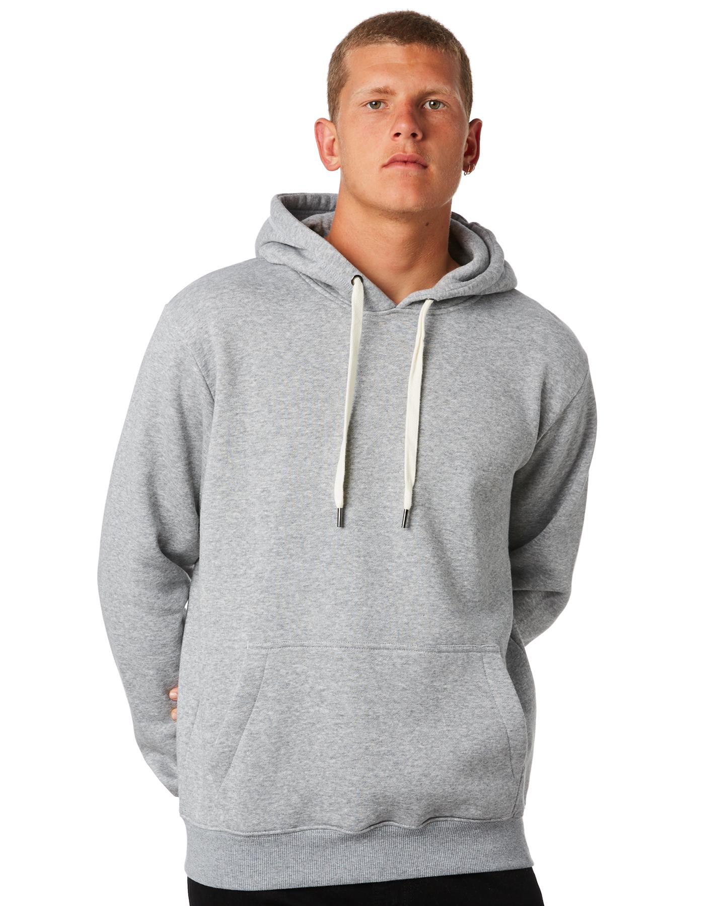 Swell Mens Hood - Grey