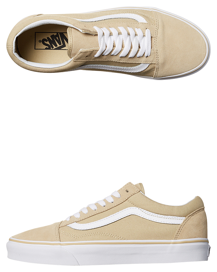 vans old skool pale khaki