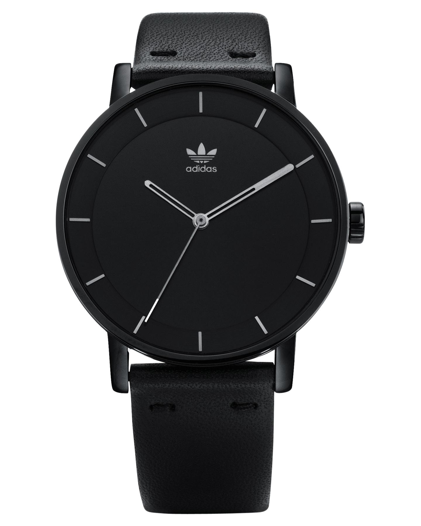 Adidas District L1 Watch - All Black